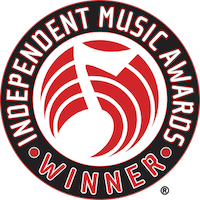 "Independent Music Awards' ""Winner"" logo"