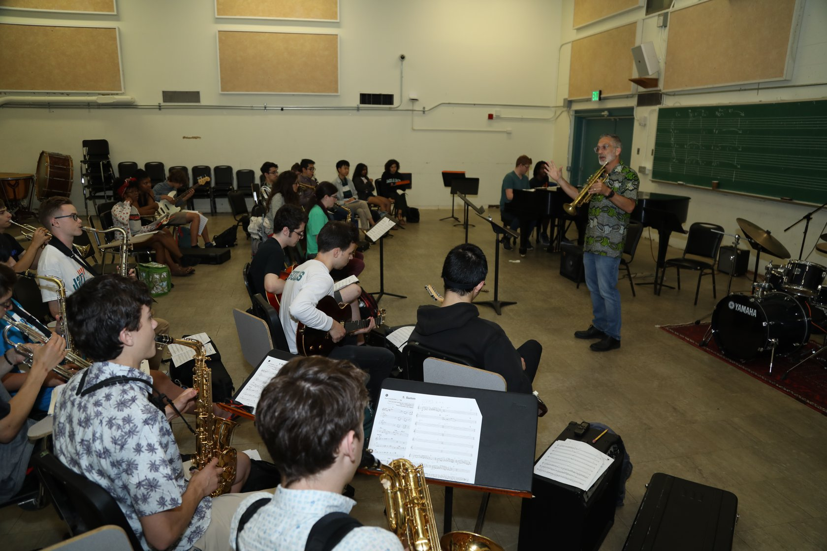 Beyond Chords and Scales, a jazz workshop by jazz professor, Earl MacDonald