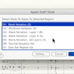 Writing Drum Parts with Finale Notation Software